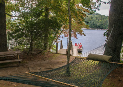 Fox Hollow View of Dock from Hammock