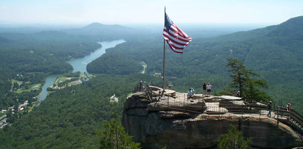 Things to do in Cashiers NC Visit Chimney Rock