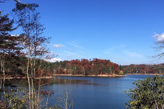 Spectacular Lakefront View from Deer Run Cottage