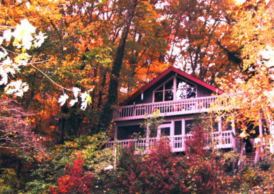 Fall at Hemlock Hill Cottage